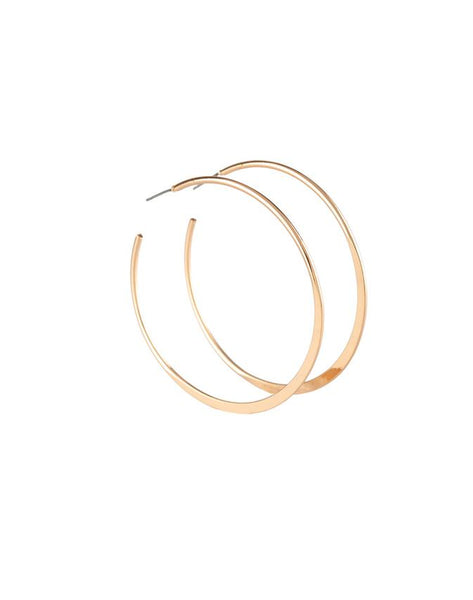Paparazzi Accessories - Hoop Hero - Silver - Earring - Earrings
