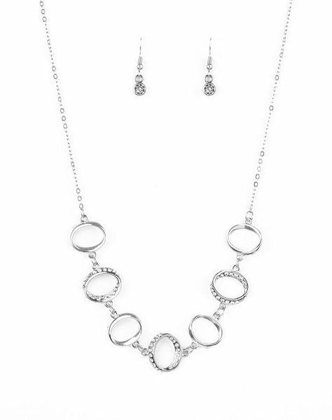 "Paparazzi Accessories - Paparazzi ""Inner Beauty"" - White - Necklaces"
