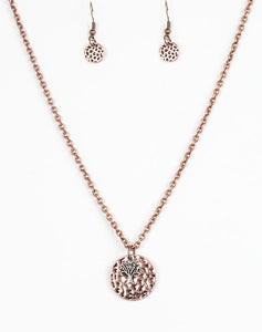 Paparazzi Accessories - Paparazzi Necklace - Live TREELY - Copper - Necklaces