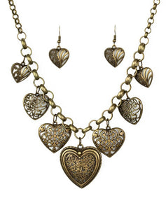 "Paparazzi ""Love Lockets"" - Brass"