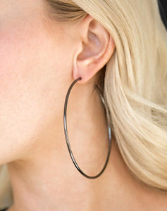 Paparazzi Accessories - Meet Your Maker!  Gunmetal Earrings - Earrings