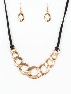 Paparazzi Accessories - Paparazzi Necklace - Naturally Nautical - Gold - Necklaces