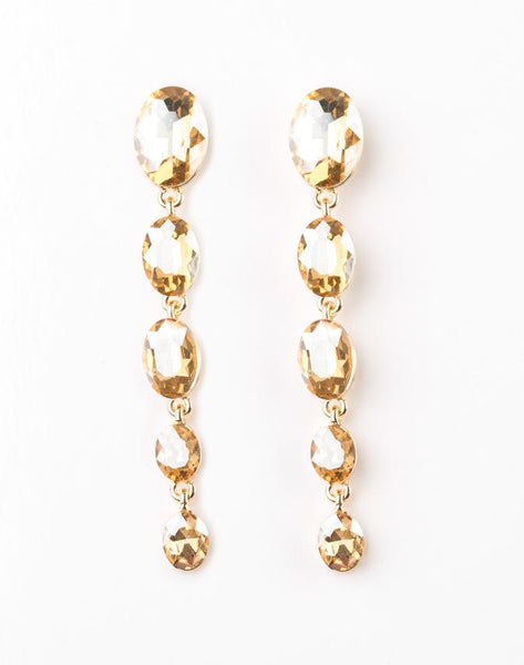 "Paparazzi Accessories - Paparazzi ""Red Carpet Radiance"" - Gold - Earrings"