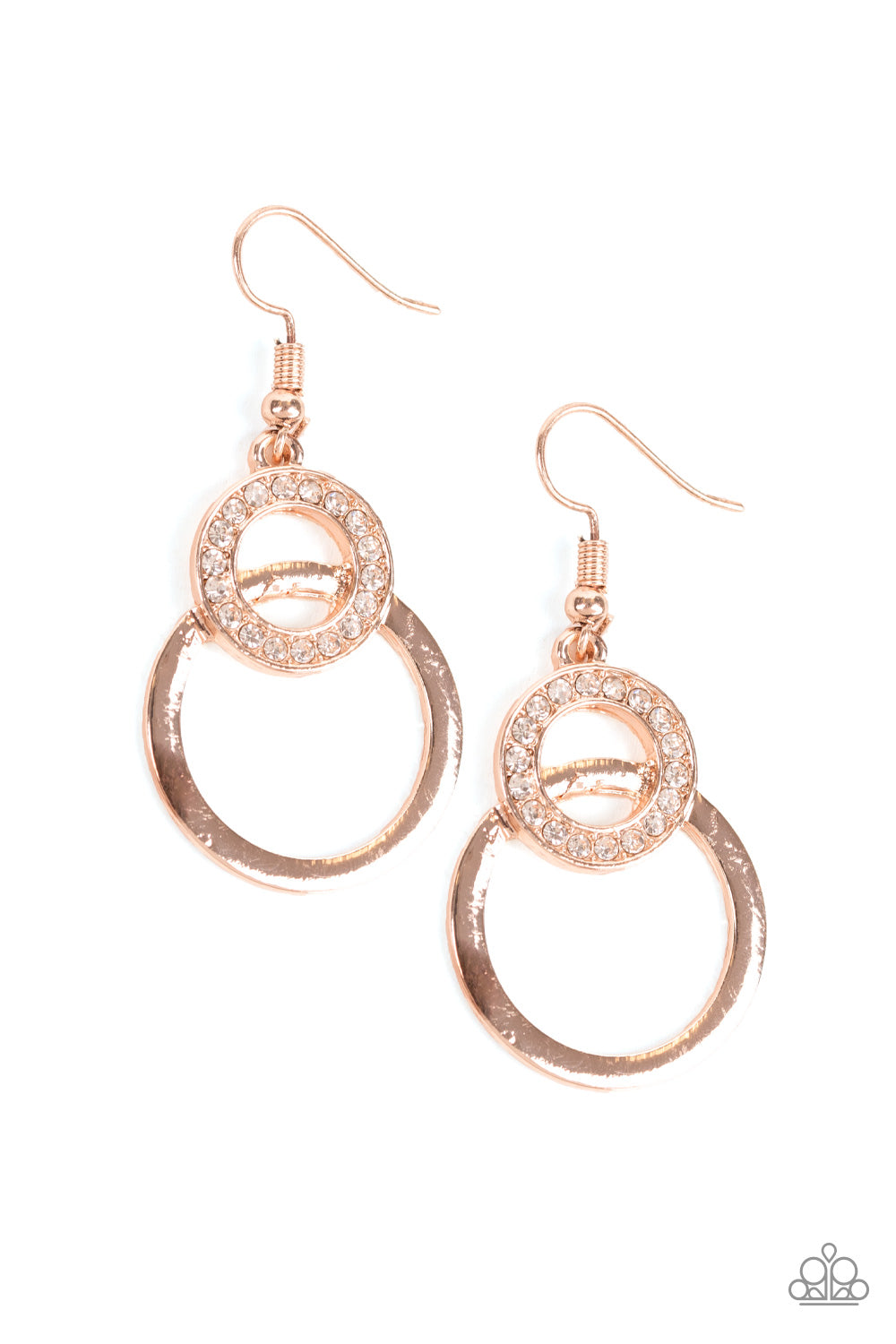 "Paparazzi Accessories - Paparazzi ""Regal Refinery"" - Rose Gold - Earrings"