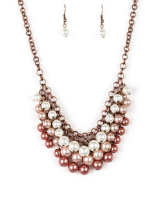 Paparazzi Accessories - Run For The HEELS! - Brown - Necklaces