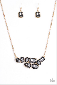 Paparazzi Accessories - Paparazzi Necklace - Urban Dynasty - Gold - Necklaces