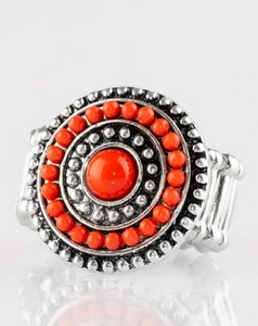 Paparazzi Accessories - Tide Pools - Red - Rings