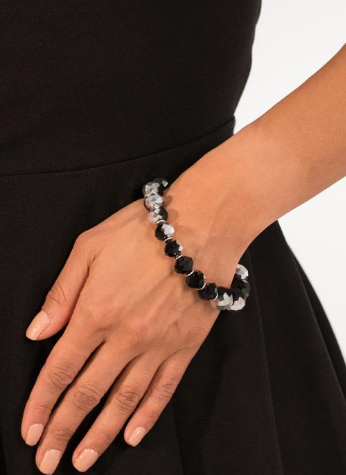 "Paparazzi Accessories - Paparazzi ""Beautifully Bewitching"" - Silver Bracelet - Bracelets"