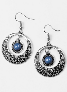 Paparazzi Accessories - Wandering Waikiki - Blue - Earrings