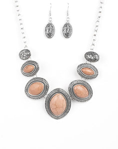 "Paparazzi Accessories - Paparazzi ""Sierra Serenity"" - Brown - Necklaces"