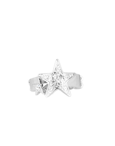 Paparazzi Accessories - Star-Spangled Starlet - White - Rings