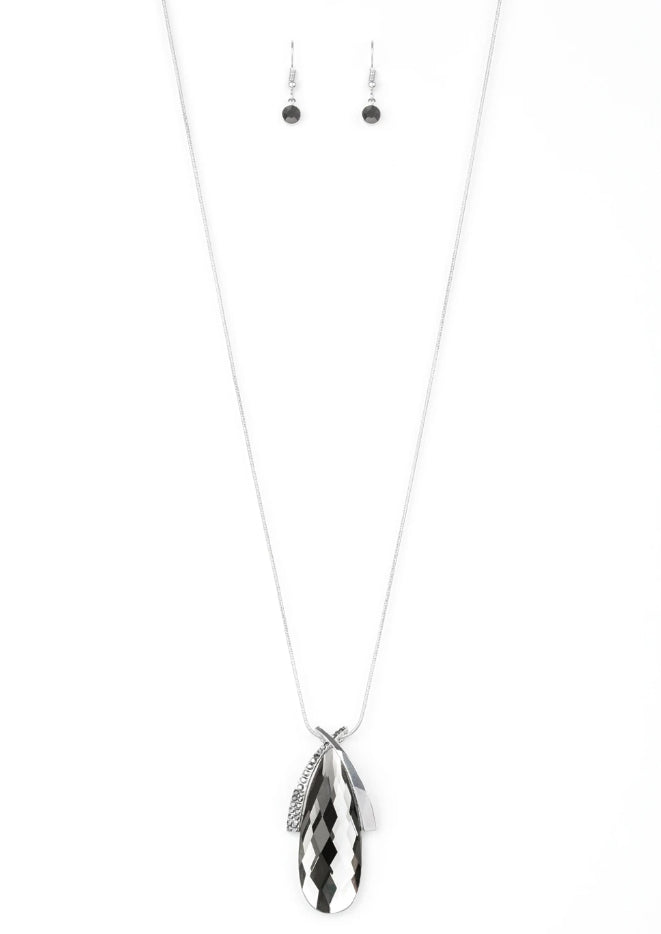 "Paparazzi Accessories - Paparazzi ""Stellar Sophistication"" - Silver - Long Necklace"