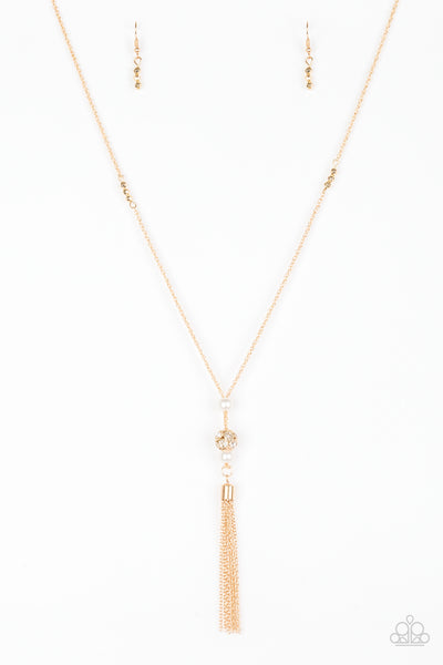 Paparazzi Accessories - Paparazzi Necklace - The Celebration Of The Century - Gold - Necklaces