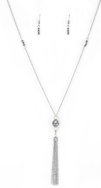 Paparazzi Accessories - Paparazzi Necklace - The Celebration Of The Century - Silver - Necklaces