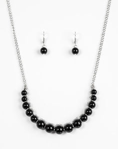 Paparazzi Accessories - The FASHION Show Must Go On! - Black Necklace - Necklaces