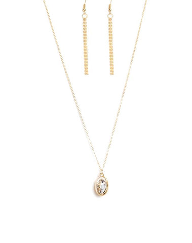 "Paparazzi Accessories - Paparazzi ""Timeless Tranquility"" - Gold - Necklaces"