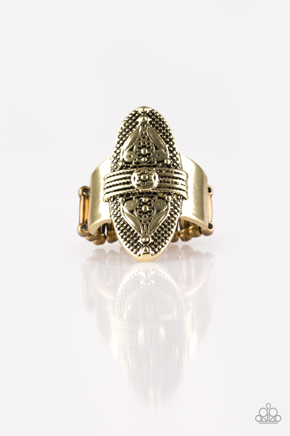 Paparazzi Accessories - Paparazzi Ring - Tonga Tour - Brass - Rings