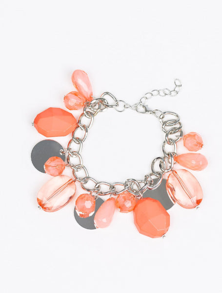 Paparazzi Accessories - Treasure Trippin - Orange - Bracelets