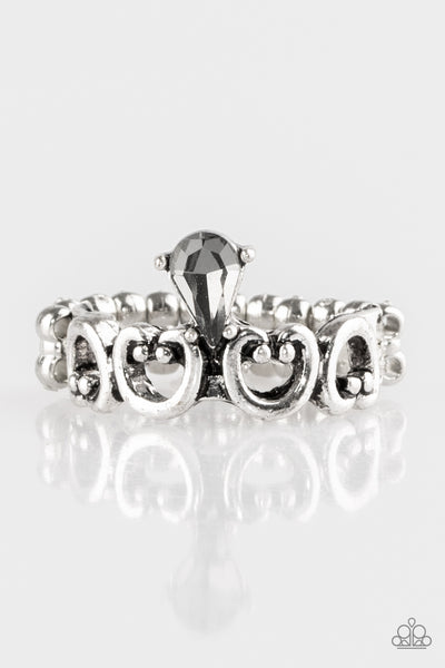 Paparazzi Accessories - Paparazzi Ring - Twinkling Tiaras - Silver - Rings