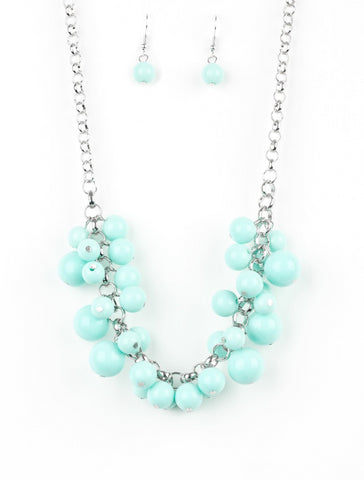 Paparazzi Accessories - Paparazzi Walk This BROADWAY - Blue Necklace - Necklaces