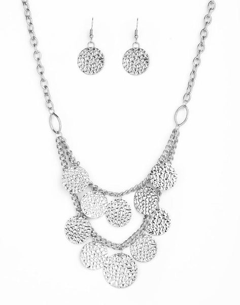 Paparazzi Accessories - Works Every CHIME - Silver - Necklaces