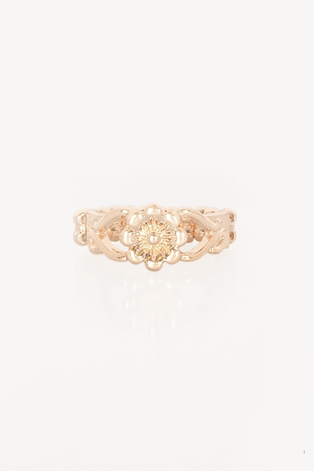 "Paparazzi Accessories - Paparazzi ""Galapagos Gardens"" Rose Gold Ring - Rings"