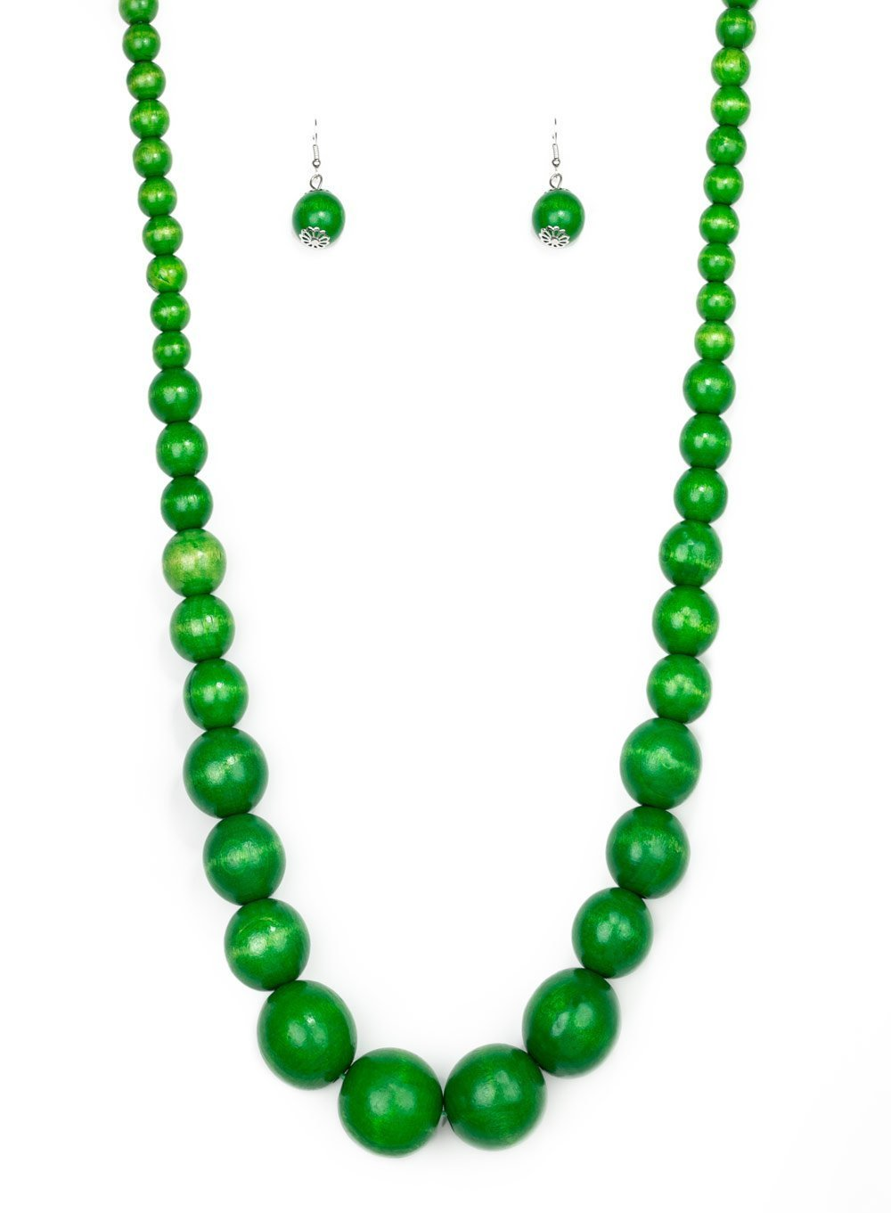 Paparazzi Accessories - Effortlessly Everglades - Green - Necklaces
