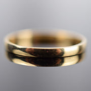 Classic Thin Gold Band