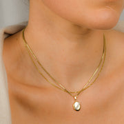 Dainty Diamond Locket