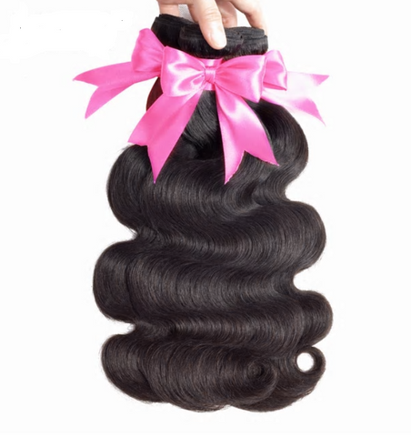 Peruvian Body Wave Virgin Hair Extension 100% Unprocessed Human Hair Bundles No Tangle Nature Color