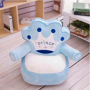 Children sofa furniture cartoon sofa for baby seats for girls boys cute princess prince sofa