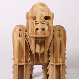 1 set 39'' Orangutan Ape Chimpanzee Monkey Side Table / Sideboard Furniture For Art Home Decoration