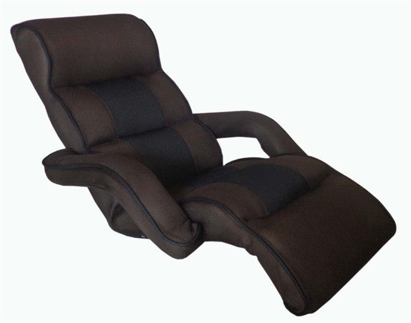 Lounge Sofa Furniture Upholstered Arm chair Floor Seating 4 Color Modern Leisure Foldable Daybed Sofa Chair Lounger Recliner