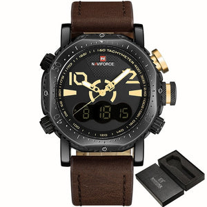 Men Sport Military Watches Men's Quartz Analog