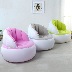 Inflatable Chair Adult Kids Air Seat Sofa Beanbag Furniture Chair Pouf Moderne Chairs Inflate Reading Home Living Room Lazy Sofa
