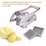 Potato Chips Making Food French Fry Cutter Cucumber Slice Cutting Machine
