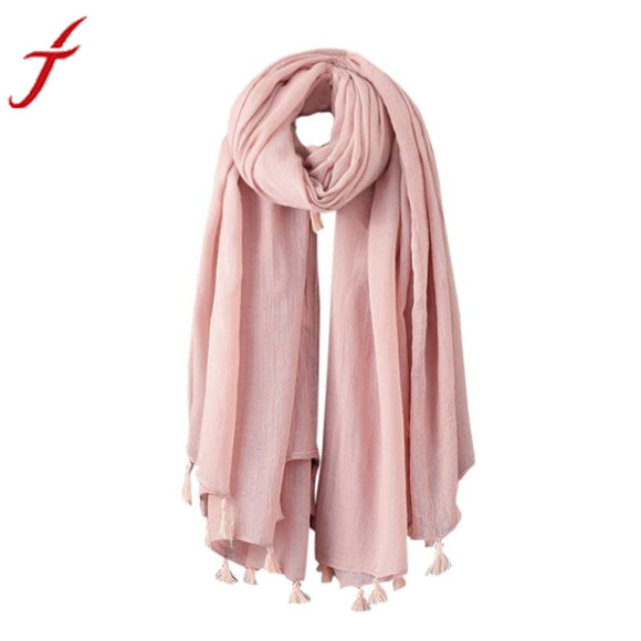 Fashion Woolen Winter Warm Scarf Men Women