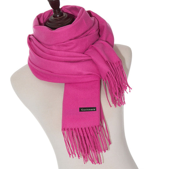 Winter Scarf For Women Scarves High Quality Solid Color