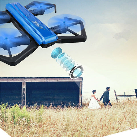 H43WH One-Key Folded In Half Foldable Mini RC Drone Selfie Drone Quadcopter 720P Camera