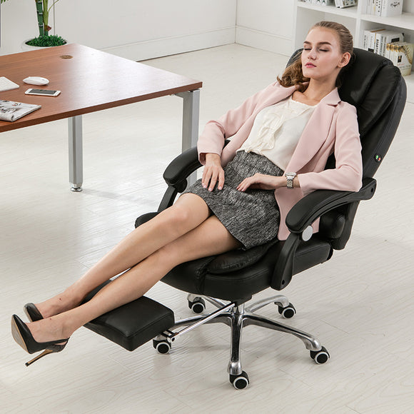 Comfortable Home Office Chair Computer Chair Swivel Ergonomic Reclining Chair Lying Lifting