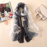 Lace Women Scarf Fashion Wrap Elegant Bandana
