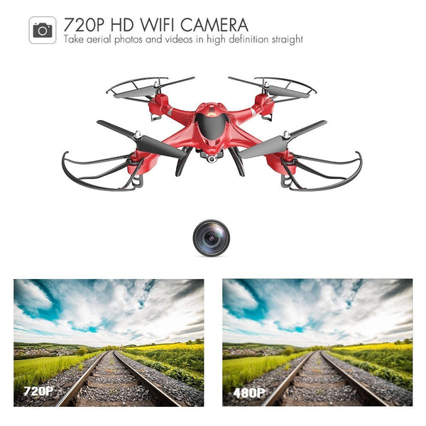 HS200 RC Drone with FPV HD Wifi Camera Live Feed