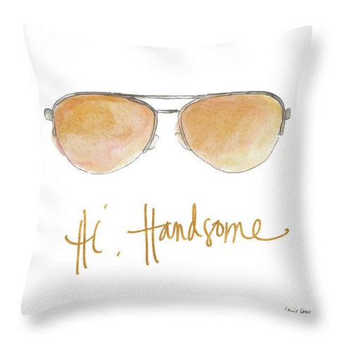 His And Her Sunglasses II Throw Pillow