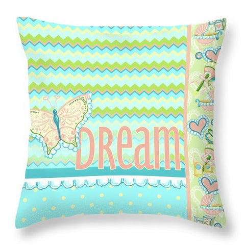 Dream And Discover I Throw Pillow