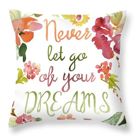 Never Let Go I Throw Pillow