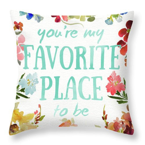 Sweetest To Be II Throw Pillow