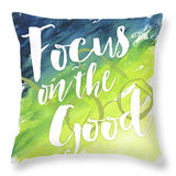 Wise Thoughts IIi Throw Pillow