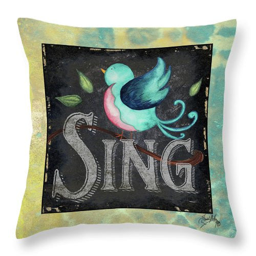 Spring Burst I Throw Pillow
