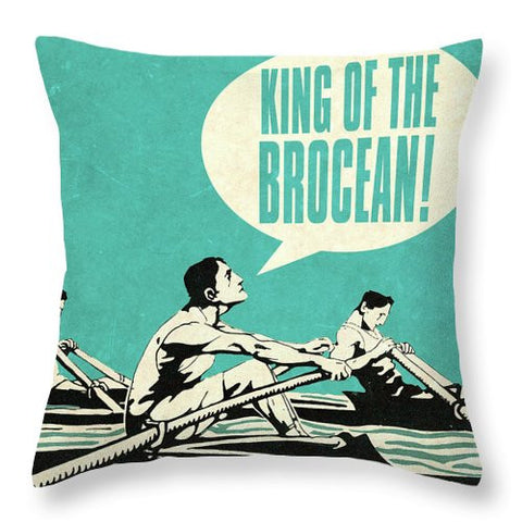 Bro Bro II Throw Pillow