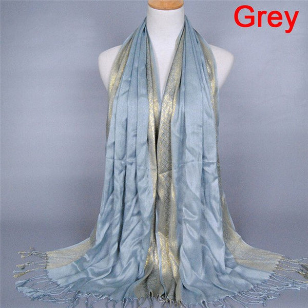 Beautiful Branded Tassel Scarf